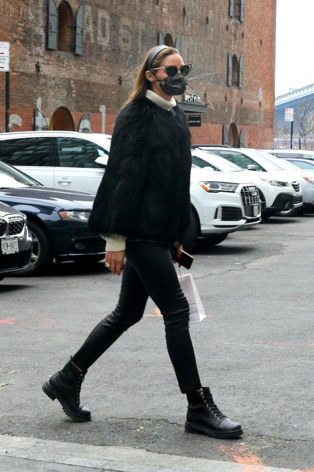 Olivia Palermo en Nueva York.