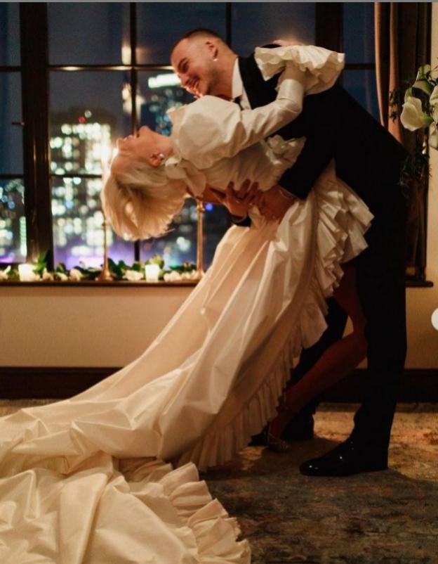 Una boda con vistas a Manhattan.