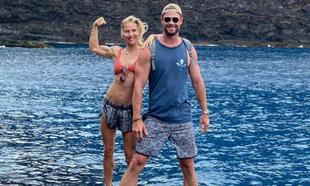 Elsa Pataky y Chris Hemsworth en la foto que se ha hecho viral por los...