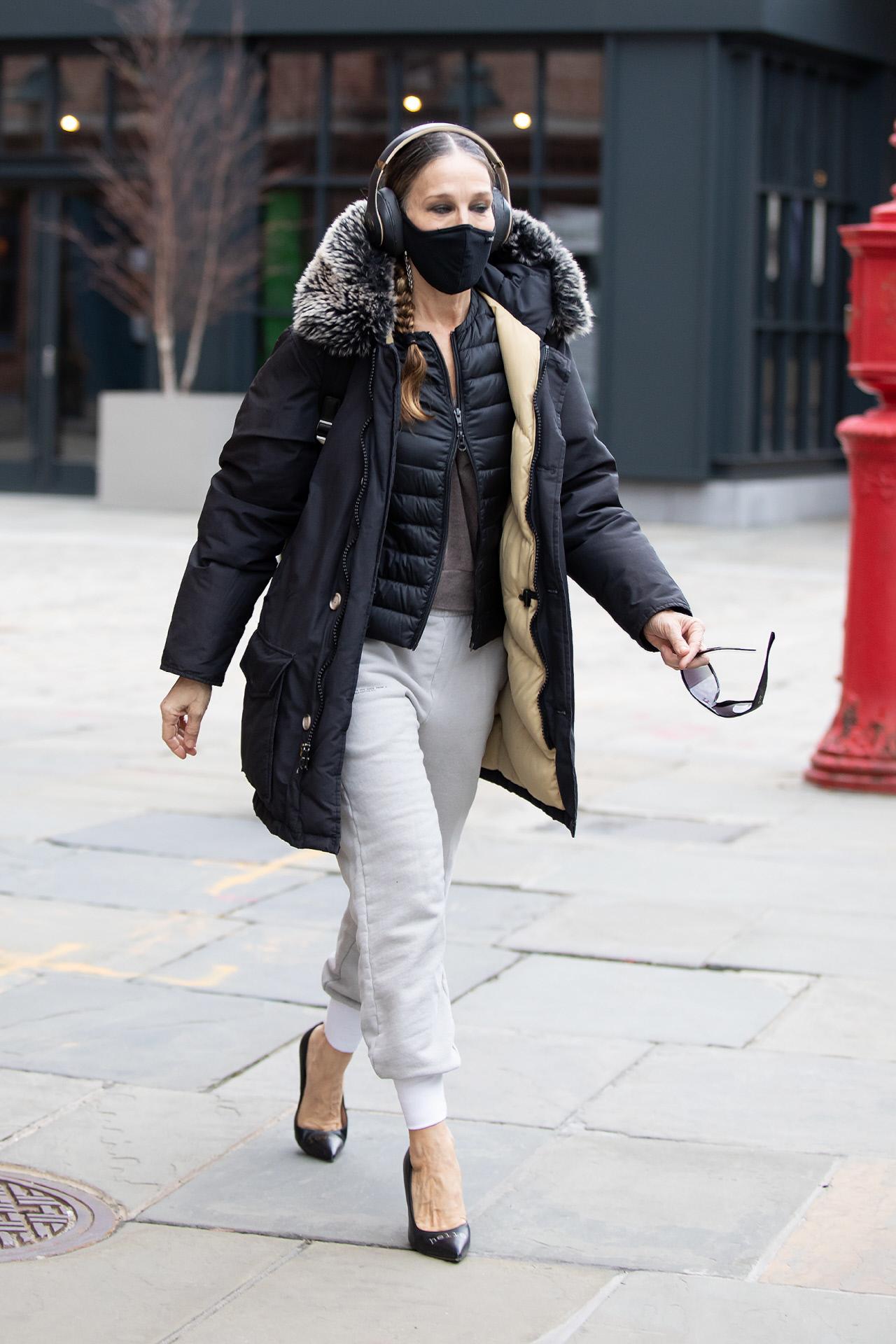 Sarah Jessica Parker en Nueva York.