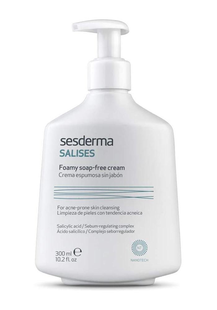 Salises Crema Espumosa sin jabón de Sesderma (15,80 euros), ideal...
