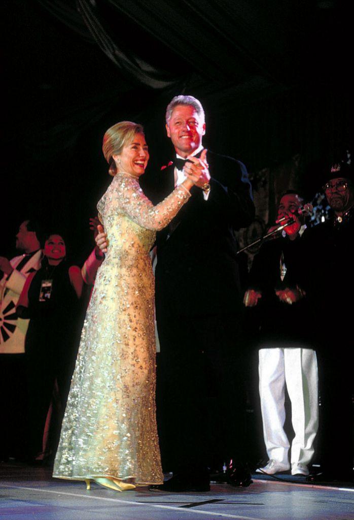 Bill y Hillary Clinton (20 de enero 1997)