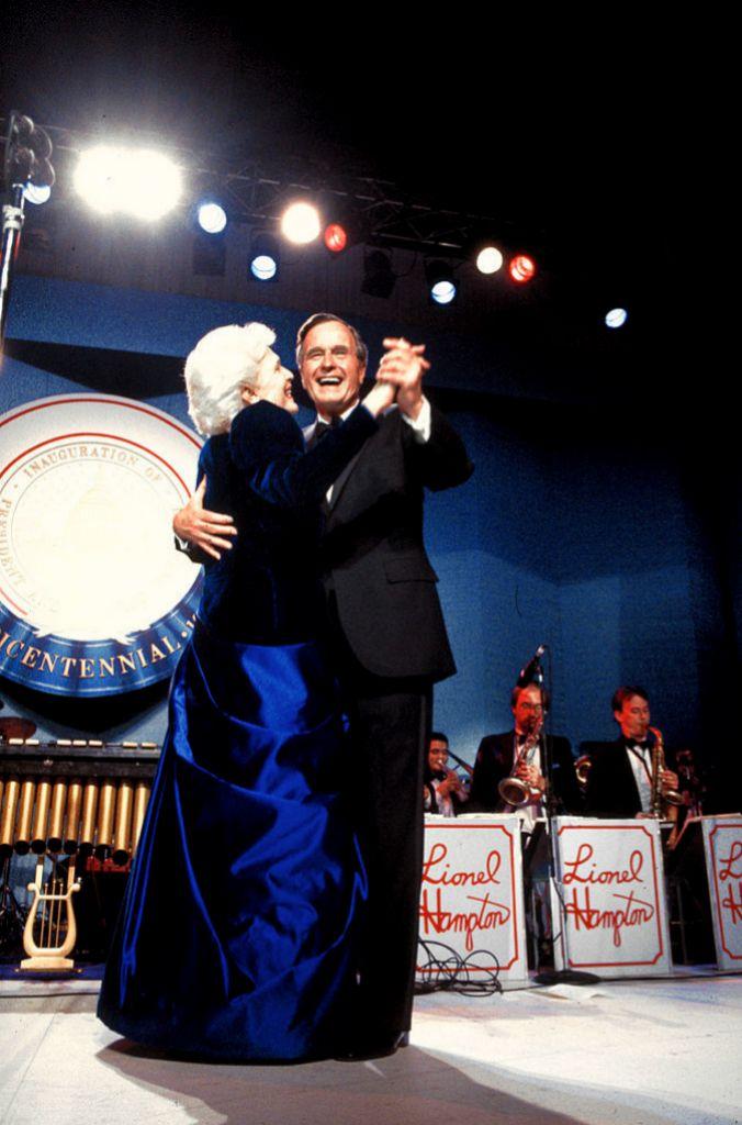 Bárbara y George Bush.
