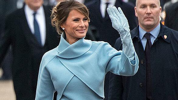 Los vestidos más espectaculares de las primeras damas en las investiduras
