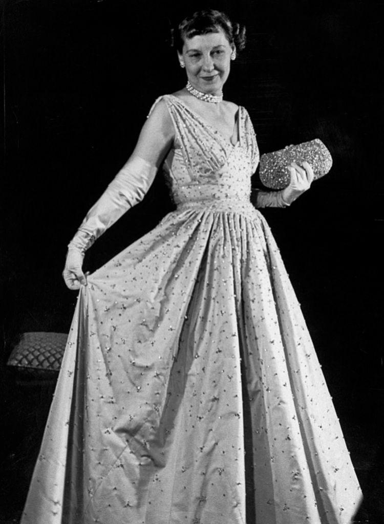 Mamie Eisenhower.