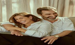 Nuria posa con camisa Dior, pantalón Nina Ricci y pulsera, anillo y...
