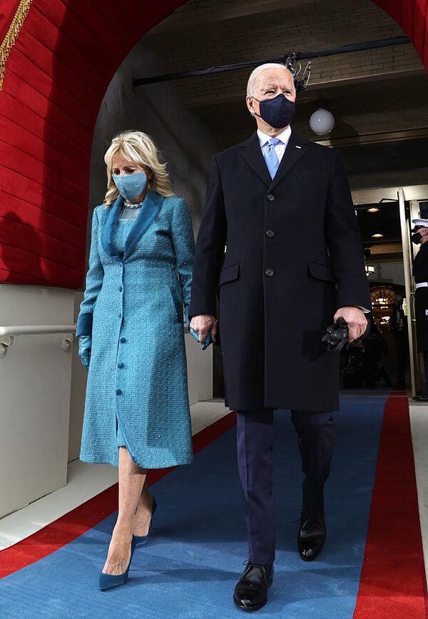 Jill y Joe Biden.