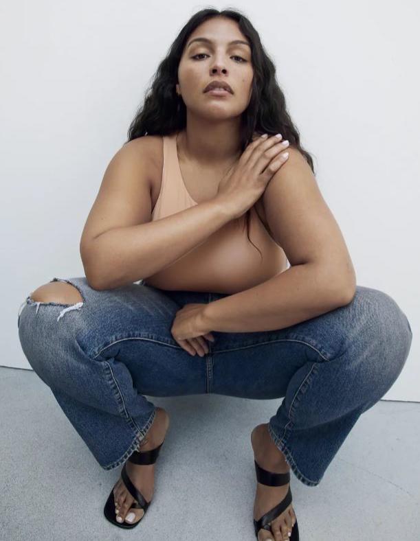 Paloma Elsesser estudió Psicología y Literatura antes de pasarse al modelaje.