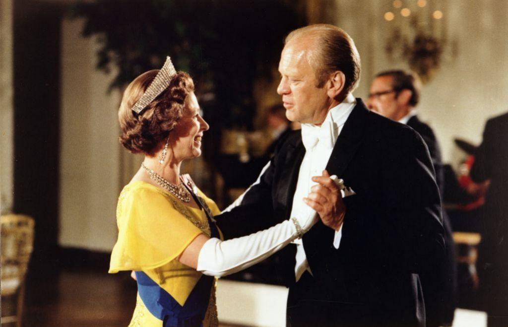 Con Gerald Ford