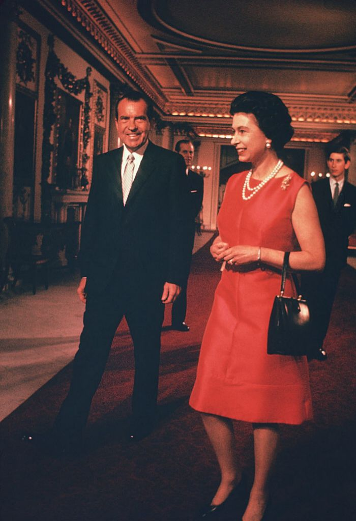Con Richard Nixon