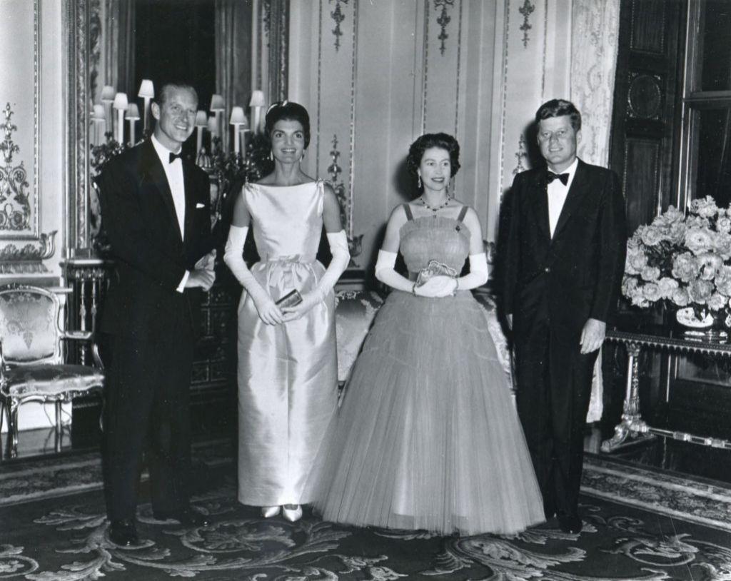 Con John F. Kennedy
