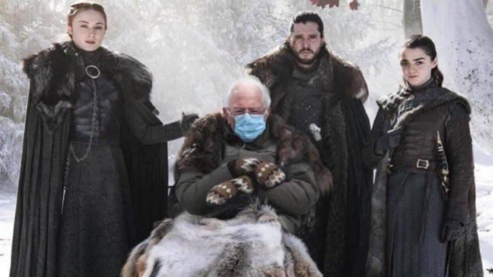 Bernie Sanders como el tullido de Juego de Tronos, uno de los memes...