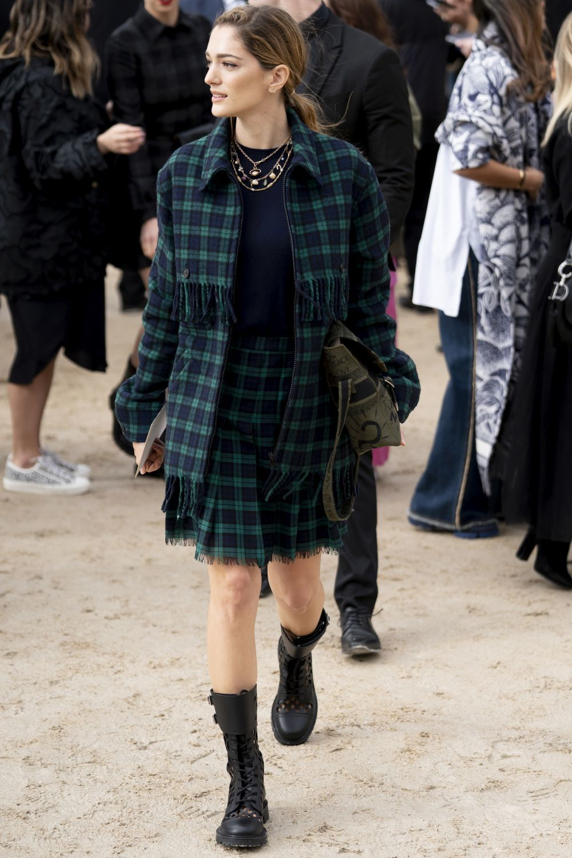 Desfile de Dior en la París Fashion Week.