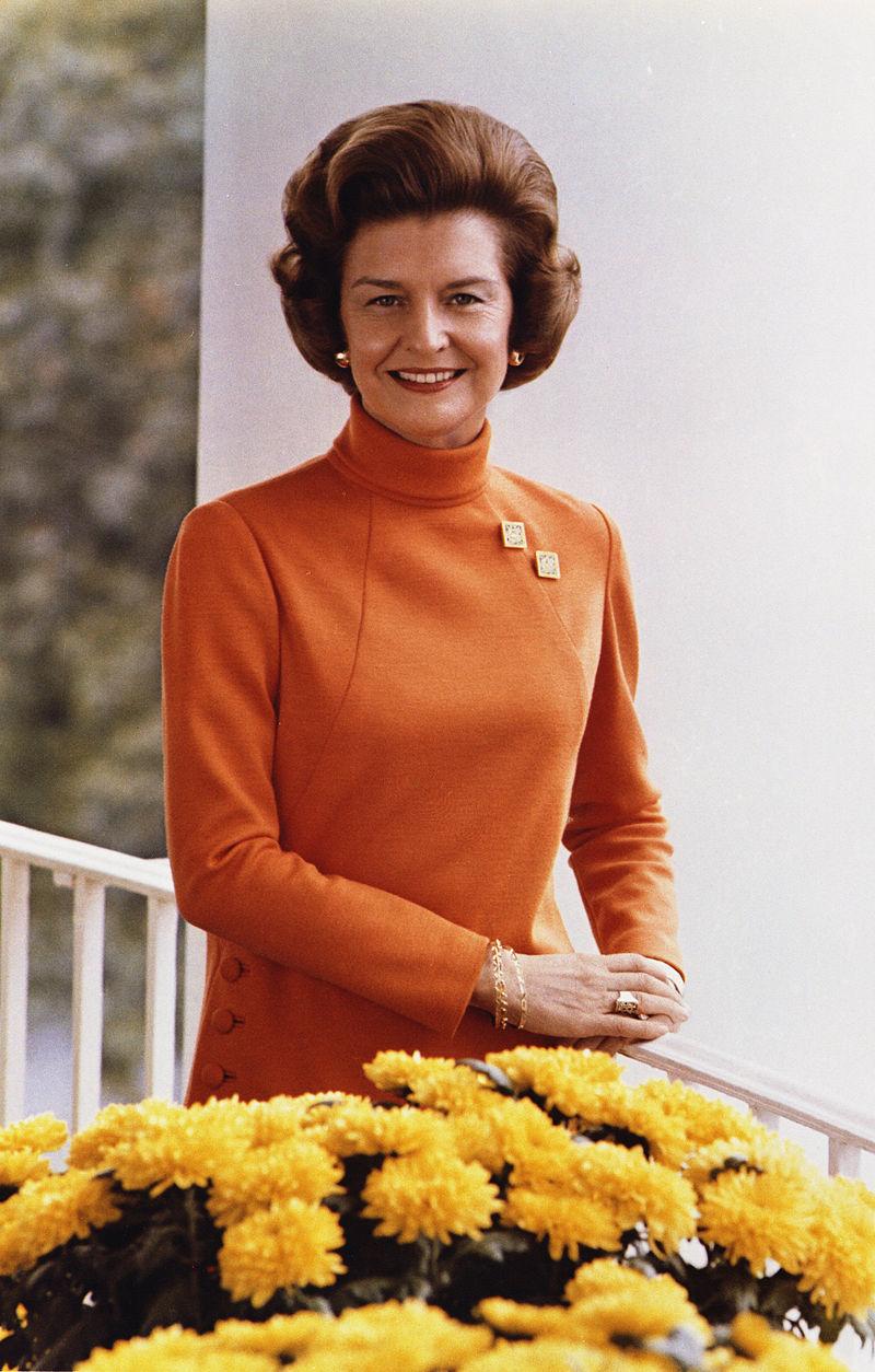 Betty Ford en 1974