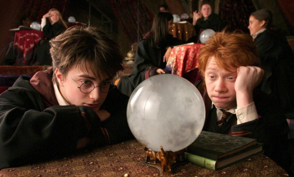 Daniel Radcliffe interpretó a Harry Potter en las ocho adaptaciones...