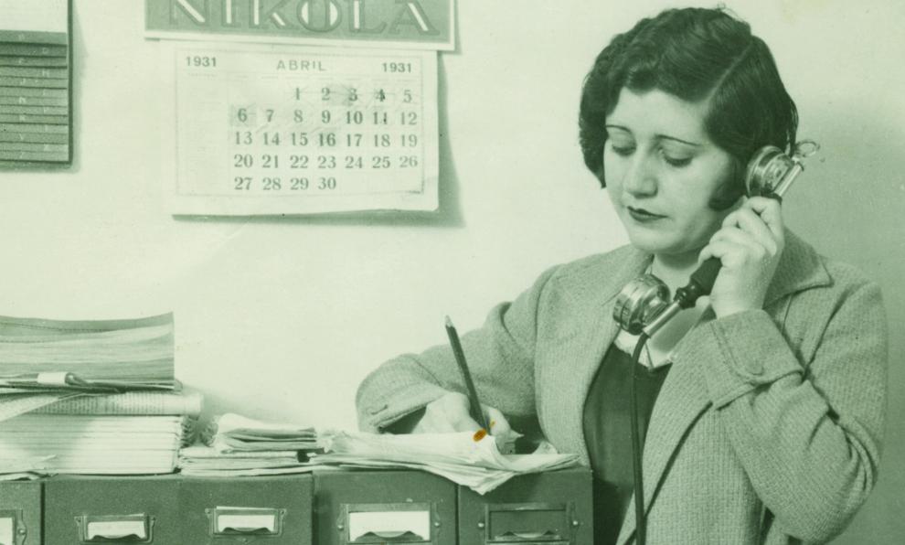 Josefina Carabias en 1931