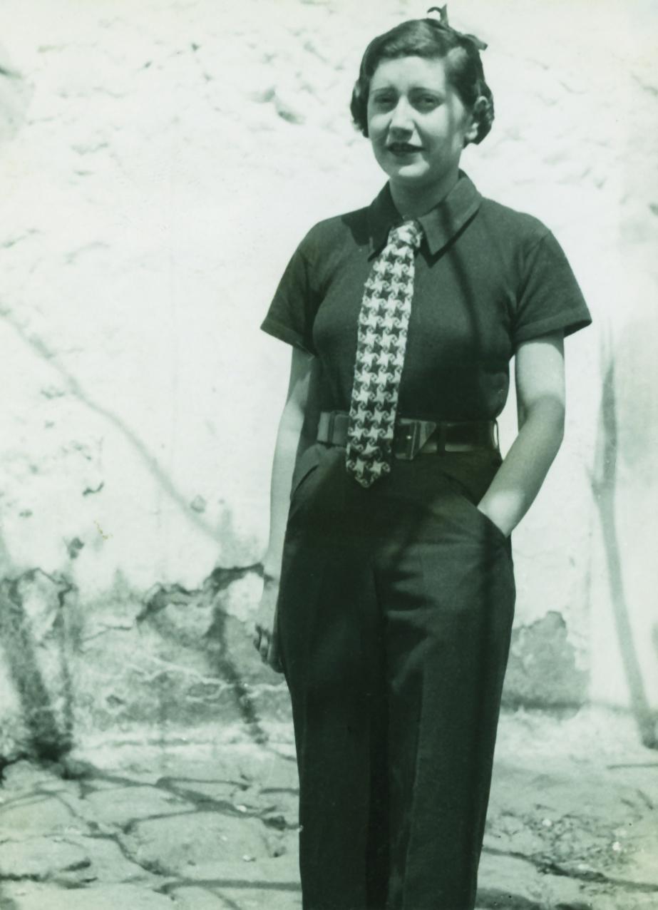 Josefina Carabias en 1934