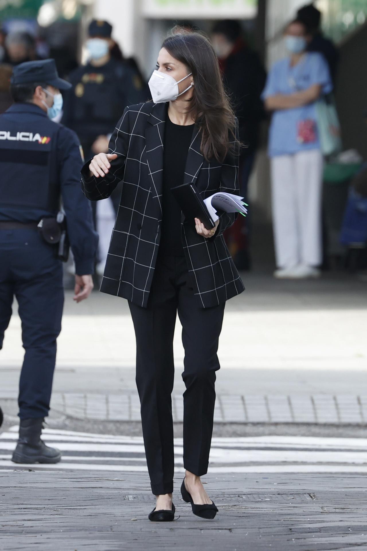 La reina Letizia se reune con la Federación Española de Enfermedades Raras.