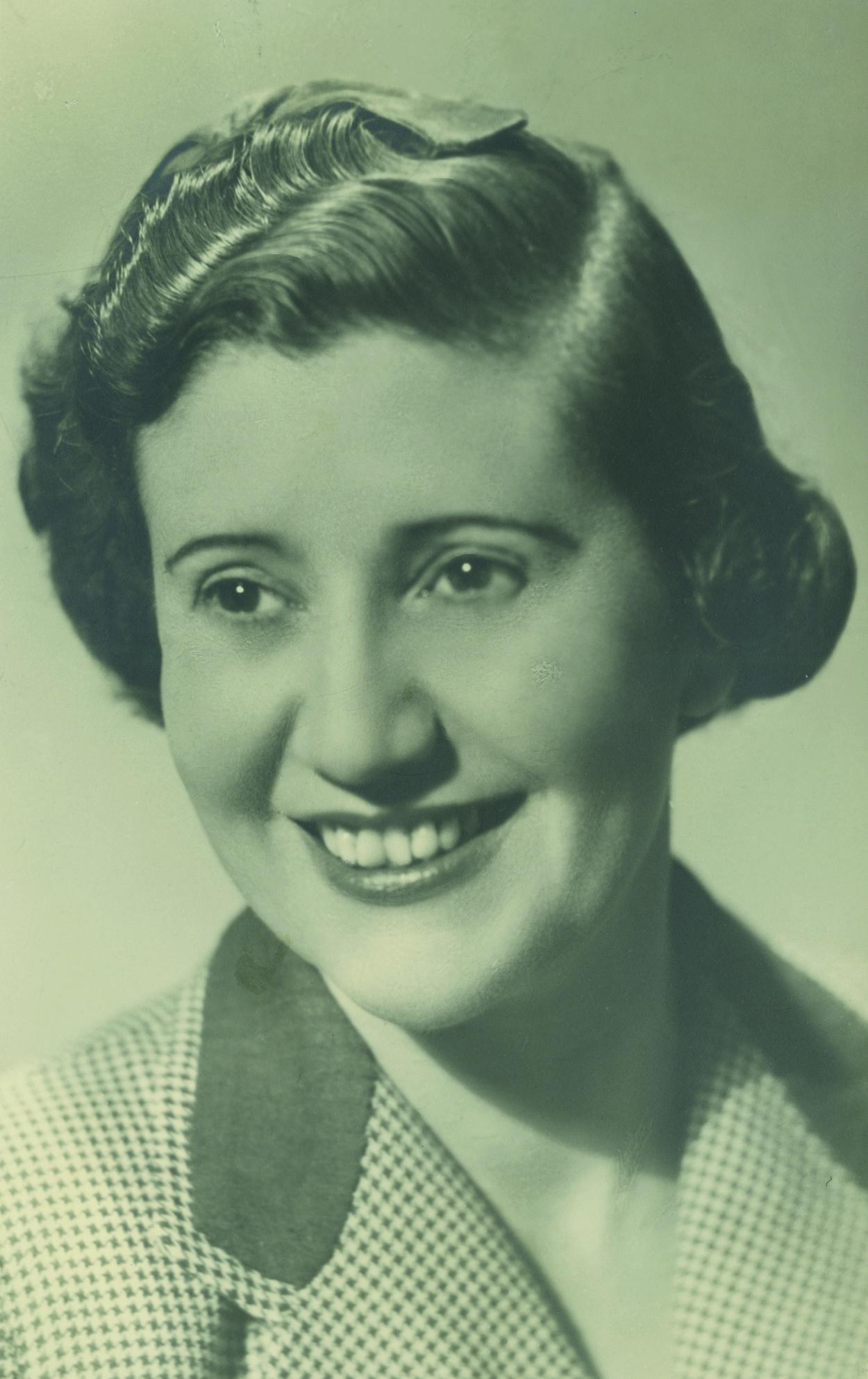Josefina Carabias en 1949