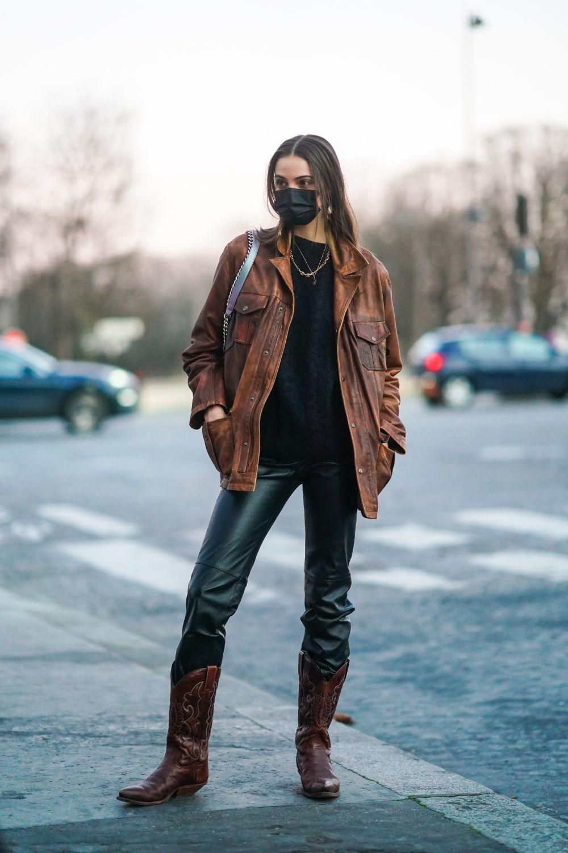 Una modelo en París.
