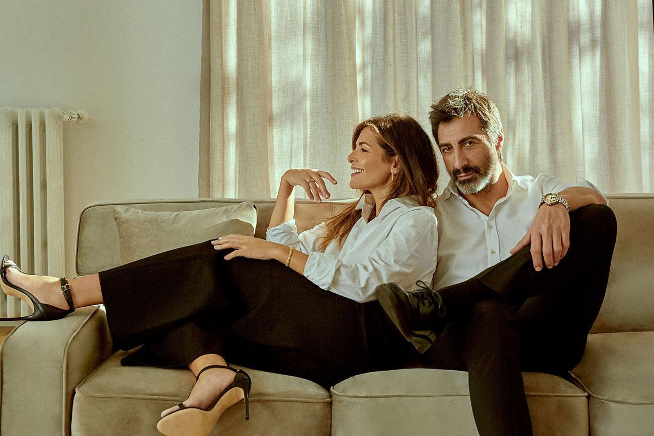 Nuria Roca y su marido Juan del Val