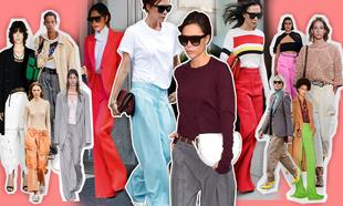 Así se llevan los pantalones XXL que Victoria Beckham adora
