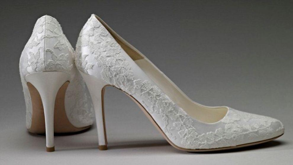 Los zapatos que llevó Kate Middelton el día de su boda