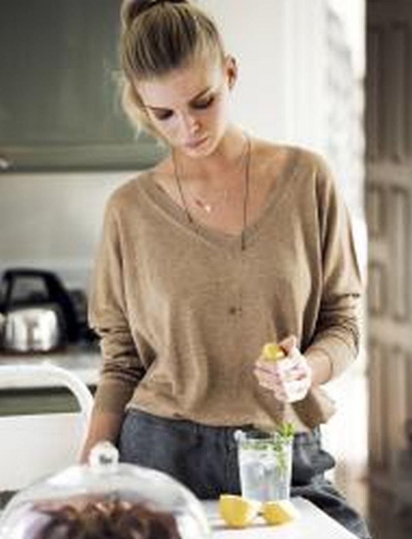 Bebe té verde, agua, infusiones y bebidas no azucaradas.