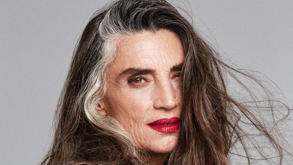 Ángela Molina es una de las mujeres con el pelo moreno que ha...