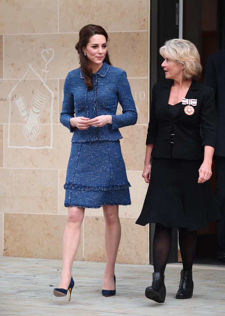 Kate Middleton en la inauguración de la casa Ronald MacDonalds en Lambeth, 2017.