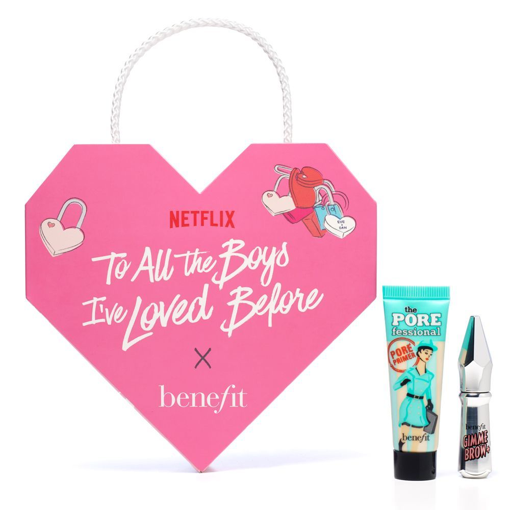 To All the Boys Ive Loved Before de Benefit x Netflix.
