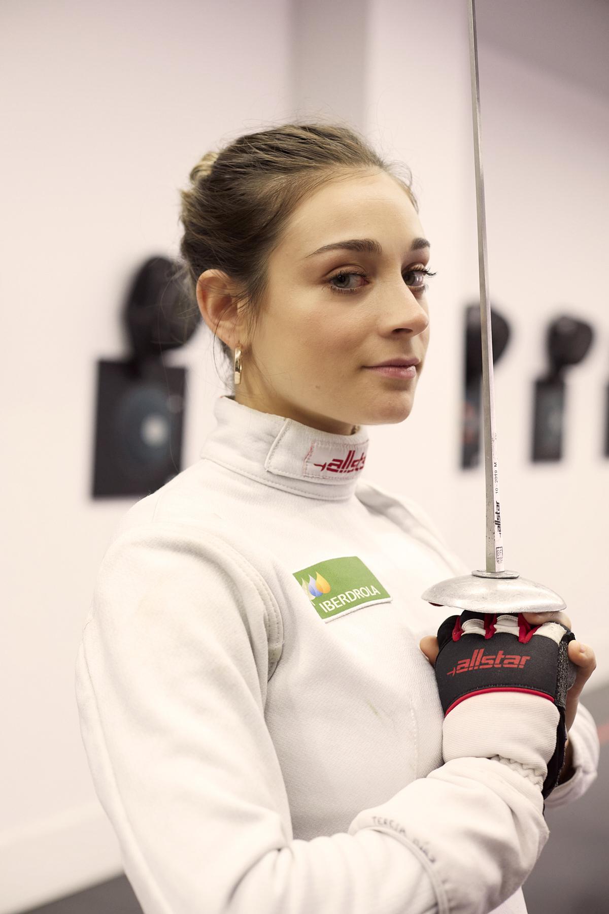 Teresa Díaz, Tiradora