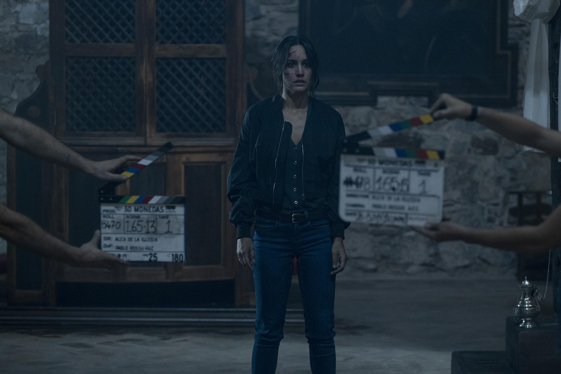 """La escena del confesionario ha sido clave para Megan Montaner en el rodaje de """"30 monedas""""."""