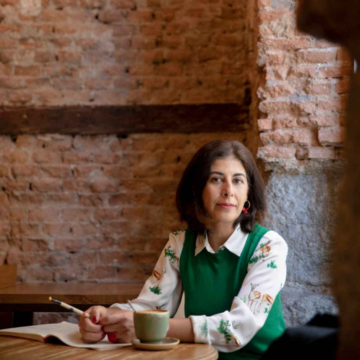 Nuria Pérez, creadora del podcast Gabinete de Curiosidades