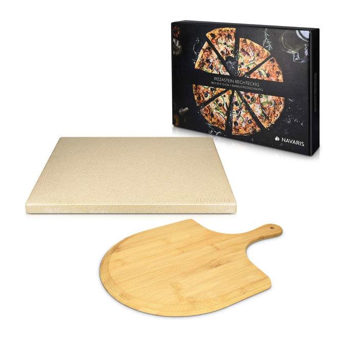 Set de piedra y pala para pizza