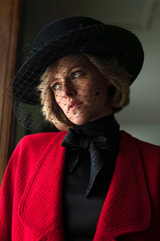 Kristen Stewart es Lady Di en el biopic Spencer.