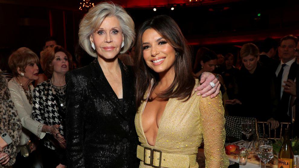 Jane Fonda y Eva Longoria