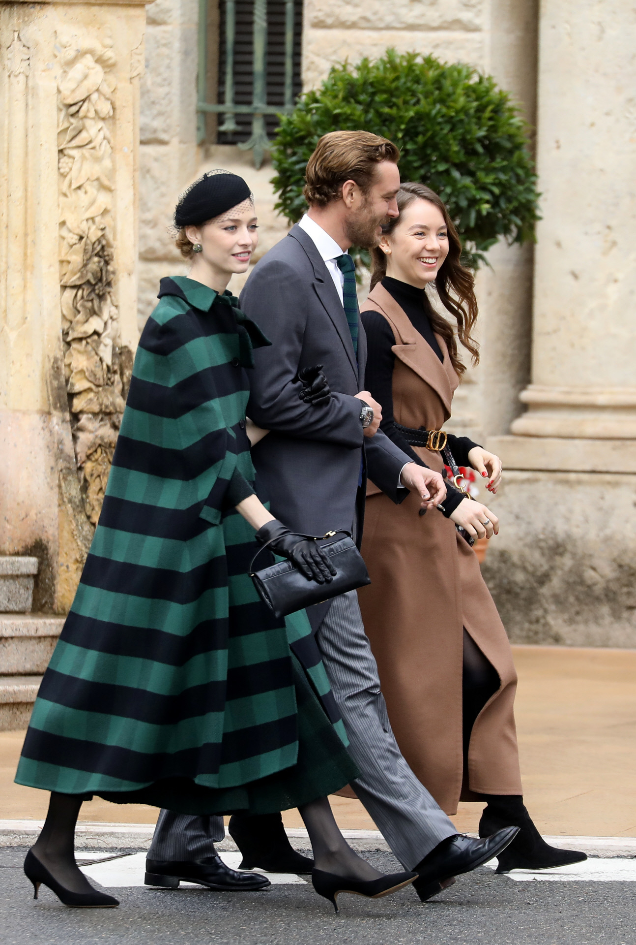 Beatrice Borromeo con total look  de Dior.