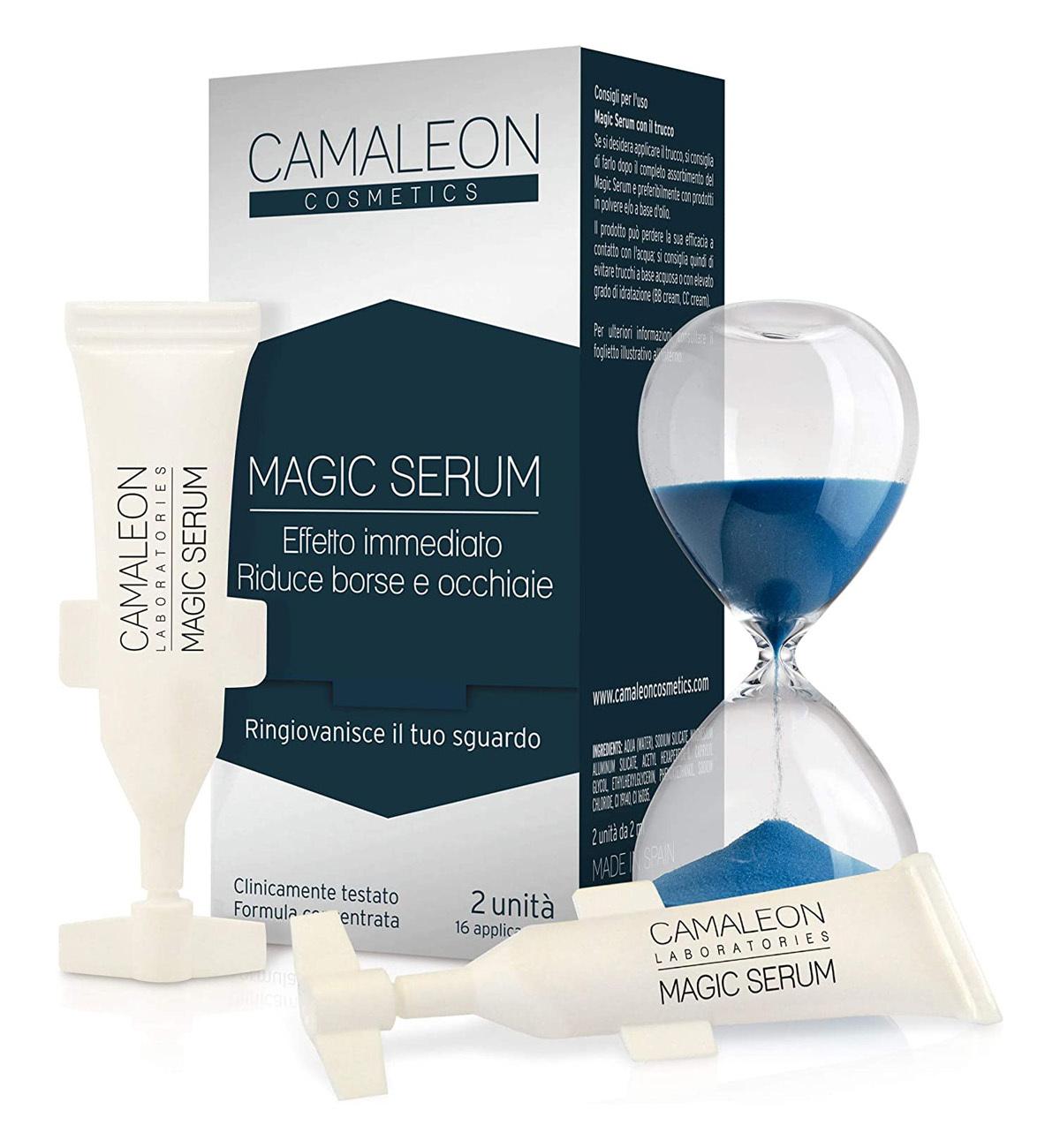 Magic Serum de Cameleon Cosmetics para el contorno de ojos.
