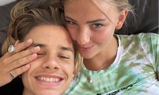 Mia Regan y Romeo Beckham
