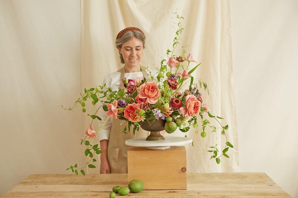 Arreglo final de Madrid Flower School