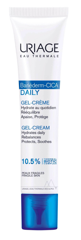 Gel-crema Bariederm-Cica, Uriage (23,25 euros), con agua termal calmante y efecto reparador.