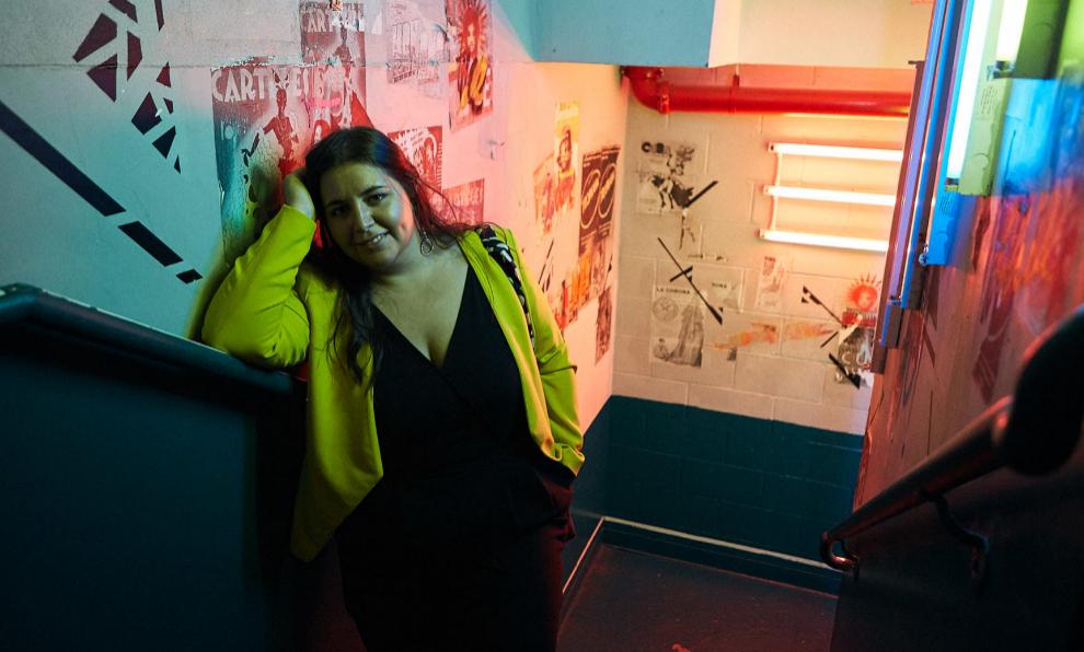 La redactora, María Serrano.