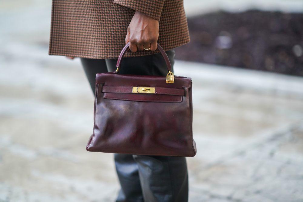 El bolso de estética vintage