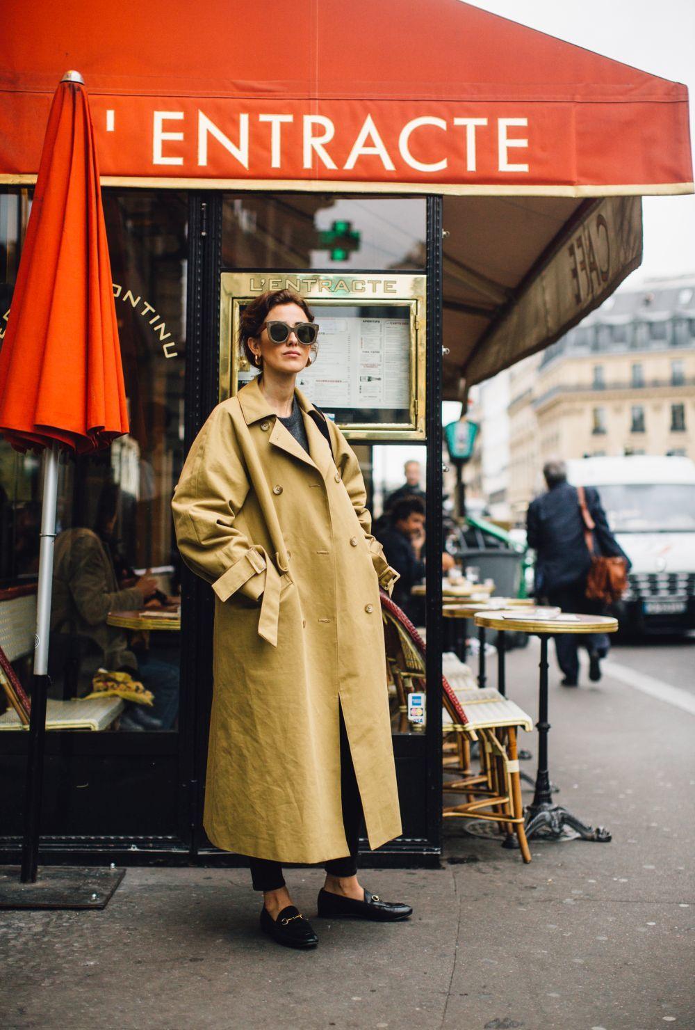 Look del street style de París.
