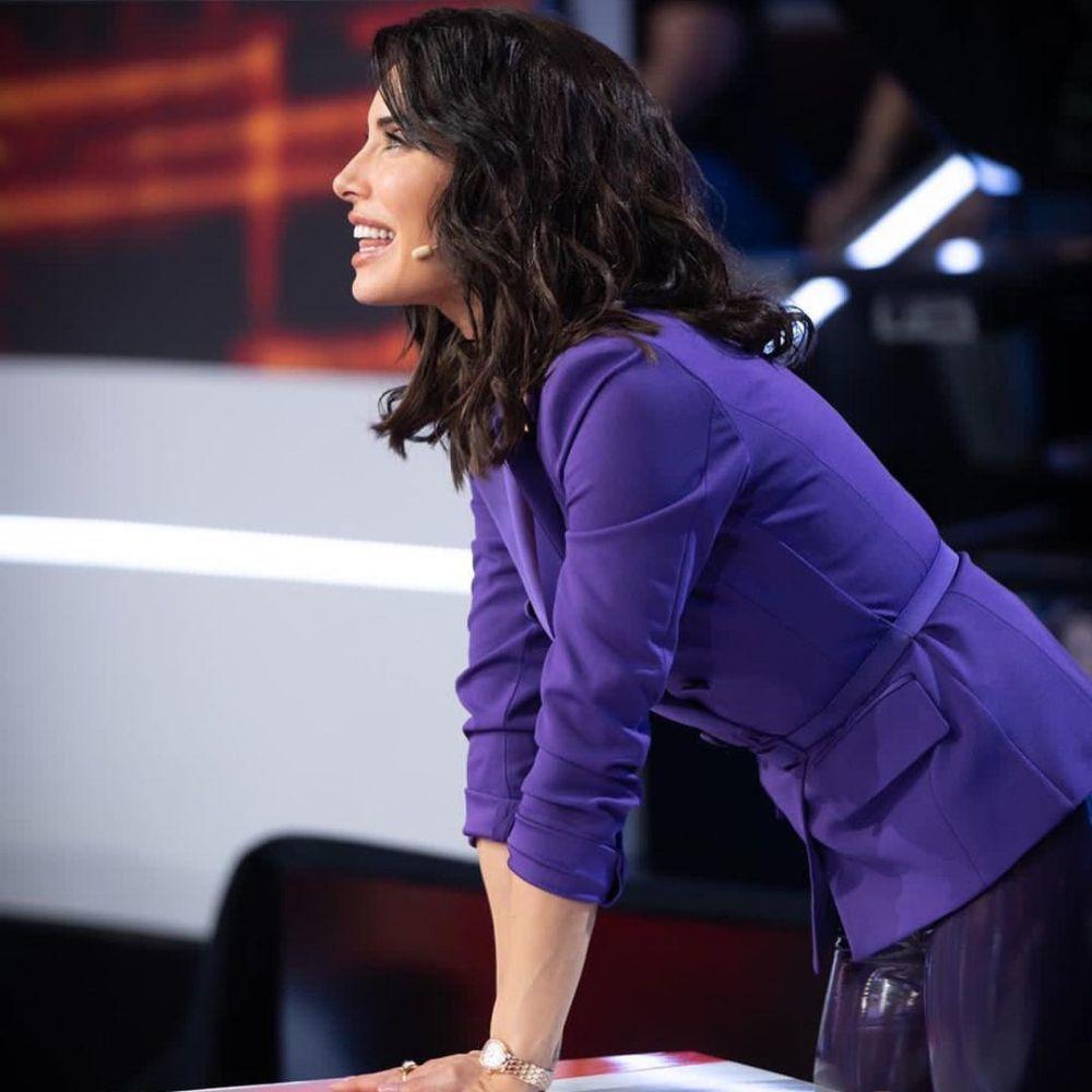 Pilar Rubio con su nueva melena long bob maxi a la altura de la clavícula.