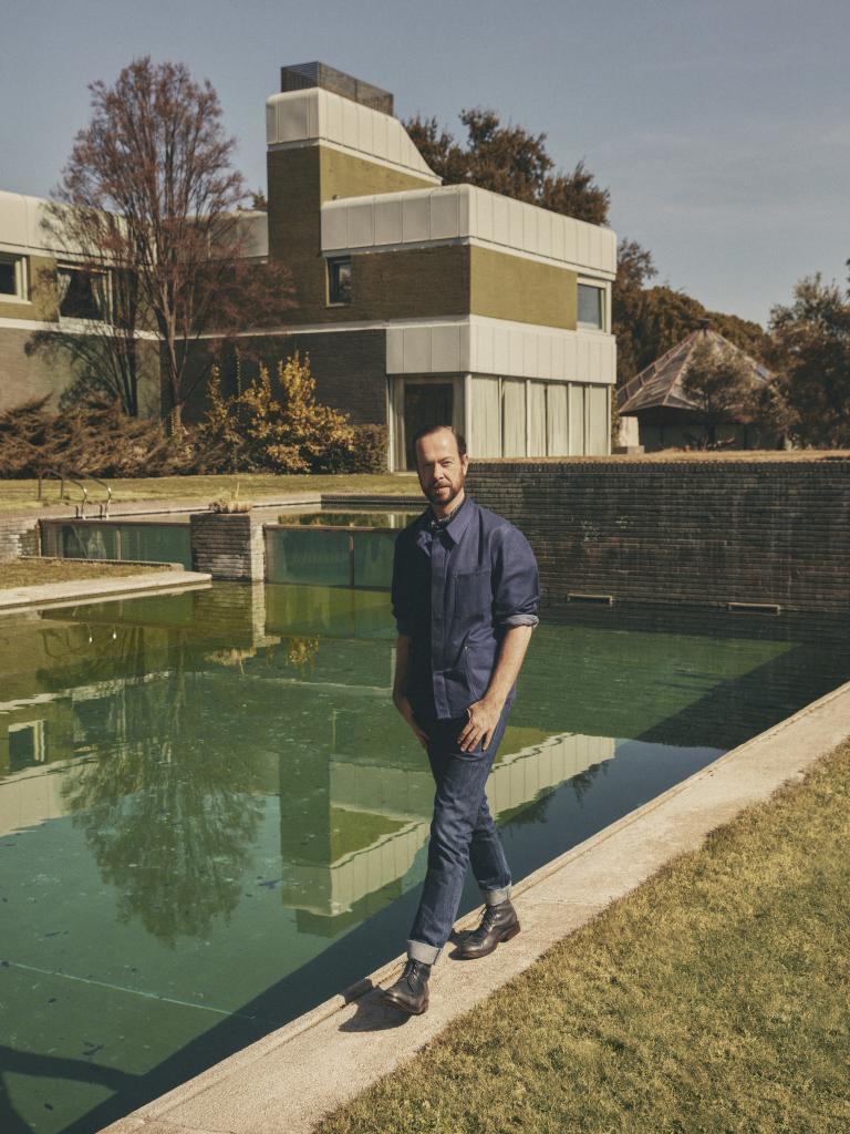 El diseñador holandés Jan Taminiau.