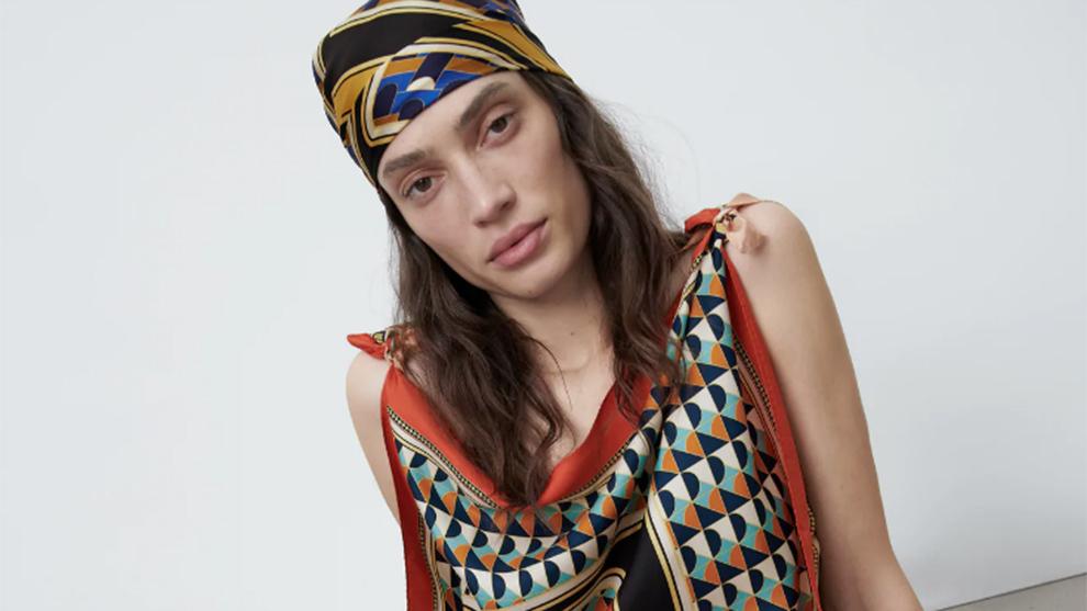 Zara lanza una colección de pañuelos de edición limitada.
