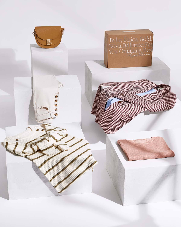 En Lookiero te mandarán 5 prendas que van con tu estilo.