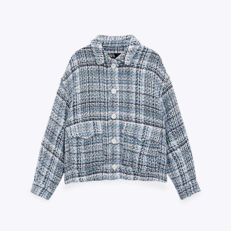 Sobrecamisa tweed